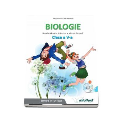 Biologie, manual pentru clasa a V-a - Rozalia-Nicoleta Statescu (Contine editia digitala) - Statescu, Rozalia-Nicoleta