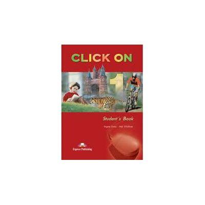 Curs de limba engleza Click On 1 (SB). Manualul elevului pentru clasa a V-a - Evans, Virginia