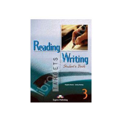 Curs pentru limba engleza. Reading and Writing Targets 3. Manualul elevului clasa a VII-a - Evans, Virginia