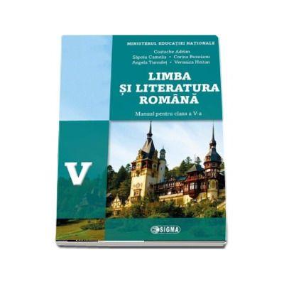 Limba si literatura romana, manual pentru clasa a V-a - Adrian Costache (Contine editia digitala) - Costache, Adrian