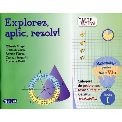 Matematica pentru clasa a VI-a, partea I - Culegere de probleme, teste si resurse pentru portofoliu
