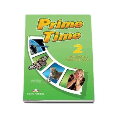 Prime Time 2. Workbook and grammar book with digibook app, pentru clasa a VI-a