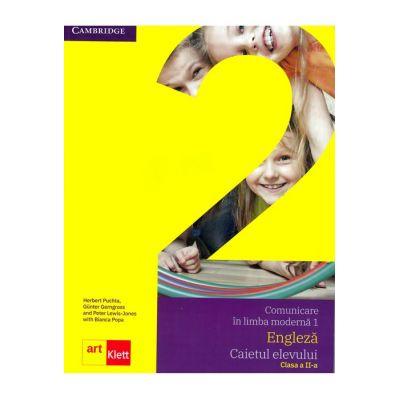 Comunicare în limba modernă 1 - Engleză, Caietul elevului clasa a II-a - Quick Minds Level 2, Activity Book