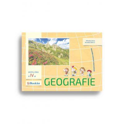 Geografie pentru clasa a IV-a. Descoperă. Exersează. Aprofundează