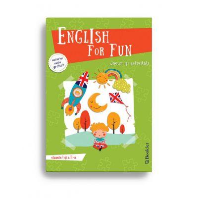 English for Fun – Jocuri si activitati pentru clasele I si a II-a
