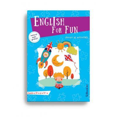 English for Fun – Jocuri si activitati pentru clasele a III-a si a IV-a