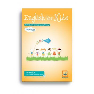 English for kids – caiet de lucru pentru clasa pregătitoare