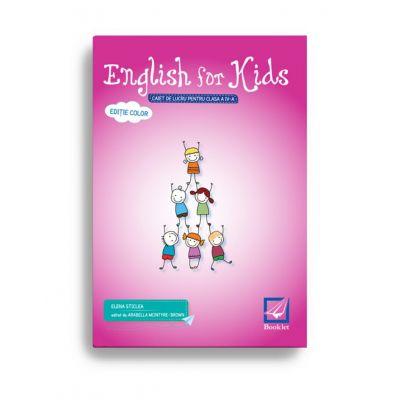 English for kids – caiet de lucru pentru clasa a IV-a