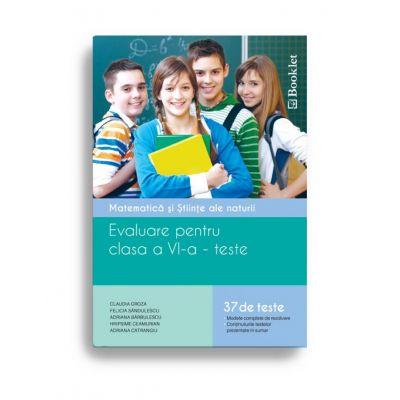 Matematica si stiinte ale naturii – evaluare pentru clasa a VI-a