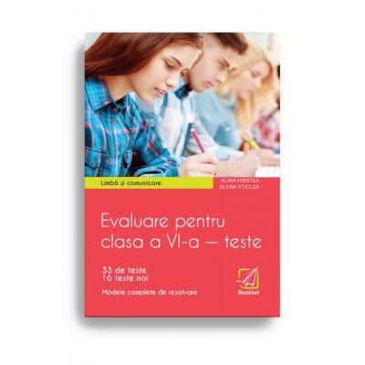 Evaluare pentru clasa a VI-a – Teste. Limba si Comunicare. Limba engleza