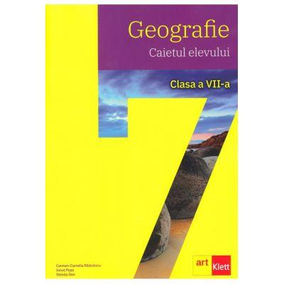 GEOGRAFIE. Clasa a VII-a. Caietul elevului