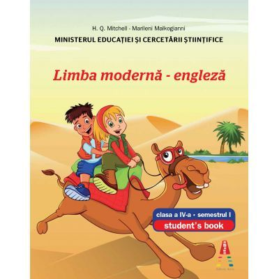 Limba moderna engleza clasa a IV-a semestrul I + semestrul II (Set) H. Q. Mitchell, Marileni Malkogianni