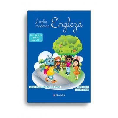 Limba modernă engleză – caiet de lucru pentru clasa a II-a