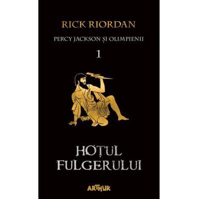 Percy Jackson şi Olimpienii (#1). Hoţul fulgerului | Paperback