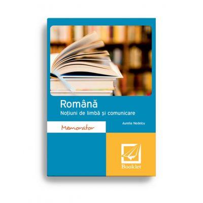 Romana – Notiuni de limba si comunicare