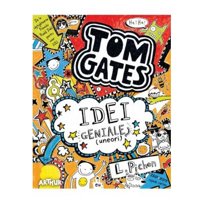 Tom Gates. Idei geniale (uneori) (Vol. 4)
