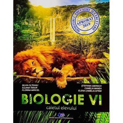 BIOLOGIE clasa a VI-a - Caietul elevului - SILVIA OLTEANU