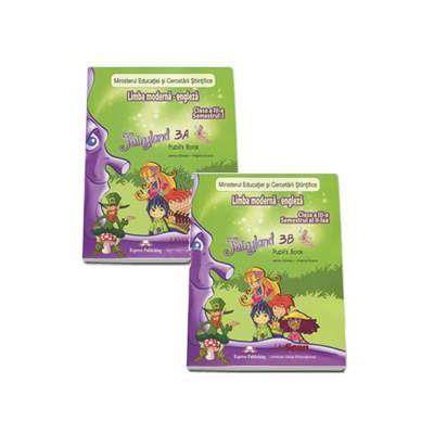 Fairyland 3A si 3B, Pupils Book. Manual de Limba Engleza pentru clasa a III-a - Semestrul I si II (Contine editia digitala) - Evans, Virginia