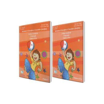 Jojo Methode de francais 3. 1 Manual de Comunicare in limba moderna 1 Limba Franceza clasa a III-a, partea I si partea a II-a (Contine editia digitala) - Mariana Visan