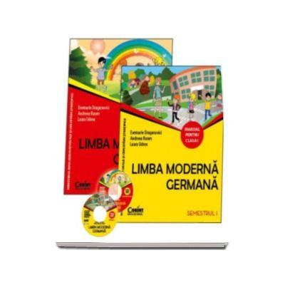Limba moderna germana manual pentru clasa I, semestrul I si semestrul al II-lea (Contine editia digitala) - Evemarie Draganovici - Evemarie, Draganovici