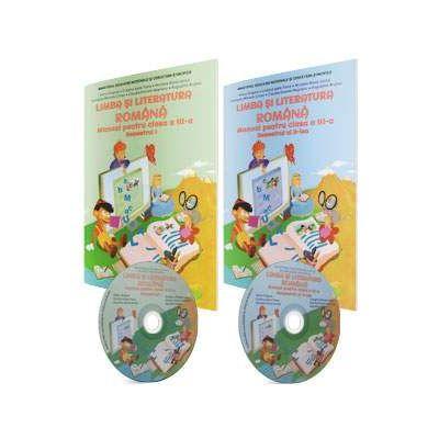 Limba si literatura romana, manual pentru clasa a III-a, Semestrul I si Semestrul II (contine CD-urile cu manualul in format digital) - Grigore, Adina