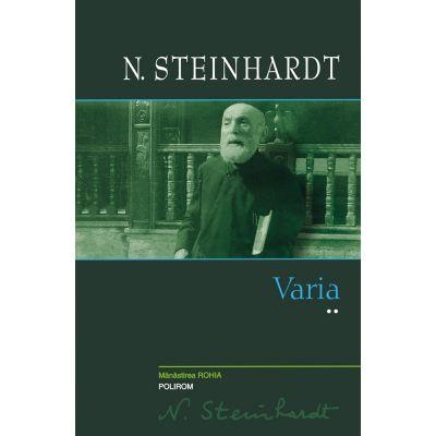 Varia (vol. II) - N. Steinhardt