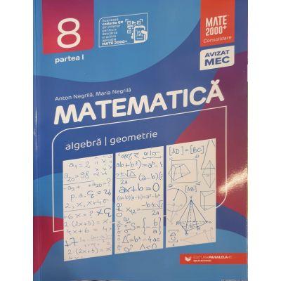Matematica 2020 - 2021 Consolidare - Algebra - Geometrie - Clasa A VIII-A - Semestrul I - Avizat M. E. C.