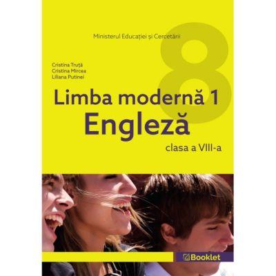 Limba modernă 1 Engleză – clasa a VIII-a Manualul este câștigător al licitației organizate de Ministerul Educației și Cercetării și a fost aprobat prin OM nr. 4939/10. 08. 2020.