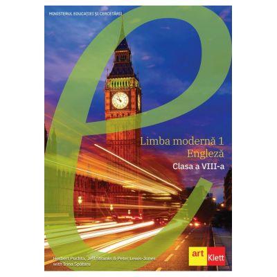 LIMBA ENGLEZĂ - Clasa a VIII-a. MANUAL Cambridge - Câștigător al Licitației din 2020