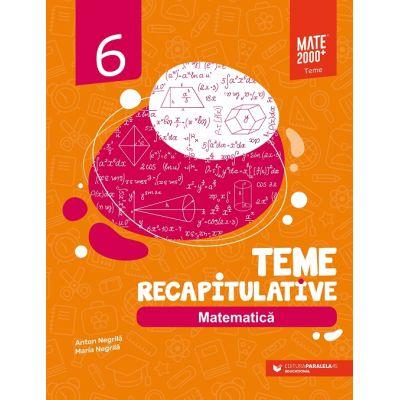 Matematică 2020- 2021 - Teme recapitulative - Clasa a VI-a