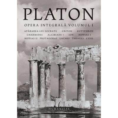 Platon -Opera integrală - Volumul I