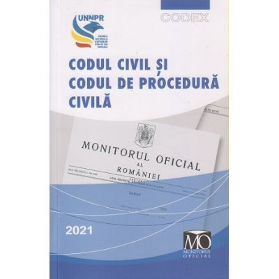 Codul civil si codul de procedura civila 2021