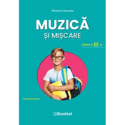 Muzică și mișcare – clasa a III-a Manualul de Muzică și mișcare – clasa a III-a este câștigător al licitației organizate de Ministerul Educației și aprobat prin OM nr. 4200/07. 07. 2021.